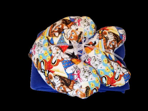 Kitty Pillow & Blanket Set