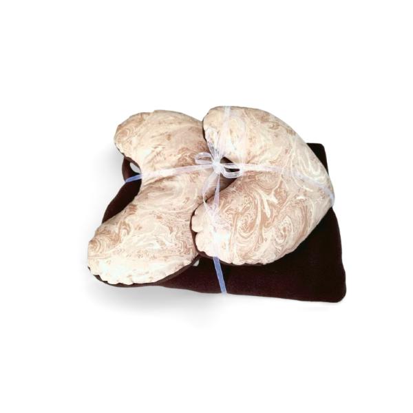 Choc Milkshake Pillow & Blanket Set