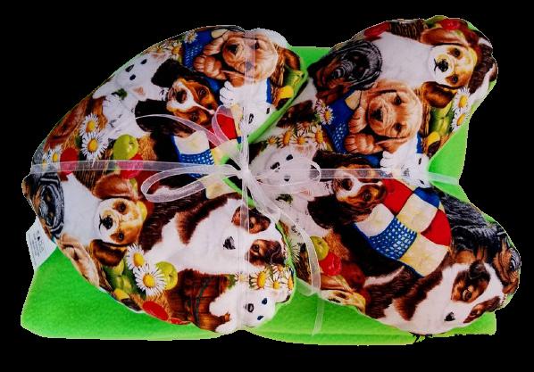 Puppy Love Pillow & Blanket Set