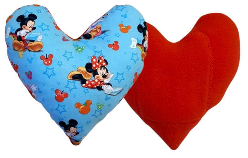 Mickey and Minnie Small Pillow
