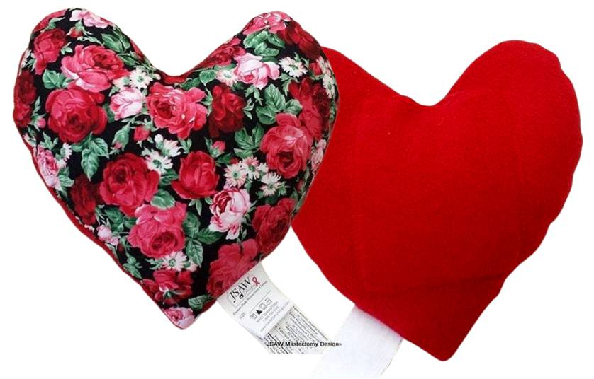 Red Rose Bouquet Small Pillow